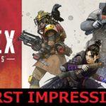 新たな覇権バトルロワイヤルゲーム誕生⁈『Apex Legends』ファーストインプレッション